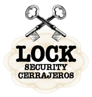 Logo locks security cerrajeros