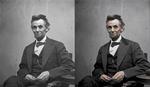Abraham Lincoln coloreado