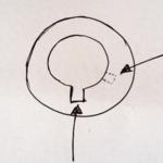 El profesor explica gráficamente como solucionar una avería en una cerradura Sidese en el curso de cerrajeros de urgencia o curso de cerrajería